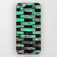 stand by me iPhone & iPod Skins featuring Stand On Me by mark jones