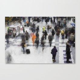Commuter Art Canvas Print