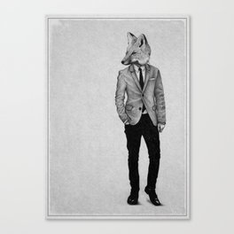 . foxy boy . Canvas Print