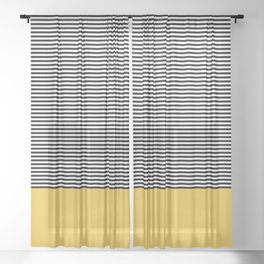 Lines Sheer Curtain