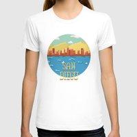 san diego T-shirts featuring San Diego by Simon Alenius