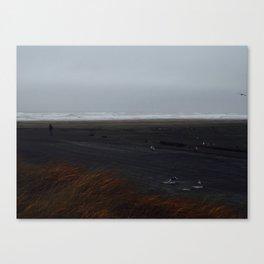 Astoria Beach Canvas Print