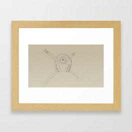 Code 2.0 Framed Art Print