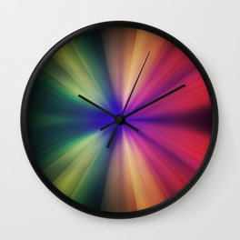 Spectral Flash Wall Clock