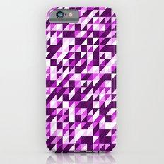 Purple Patchwork Slim Case iPhone 6s