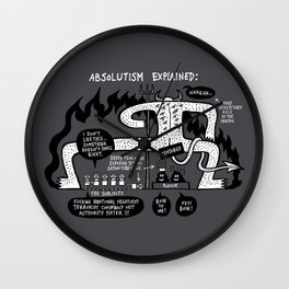 Absolutism Explained Wall Clock