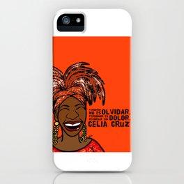 La Reina Celia Cruz iPhone Case