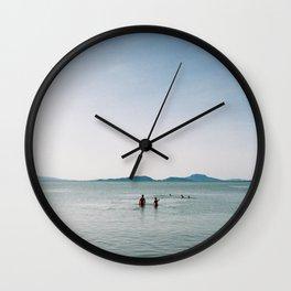 Balaton lake Wall Clock