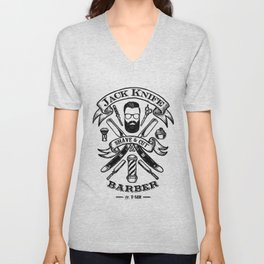 Jack Knife Unisex V-Neck