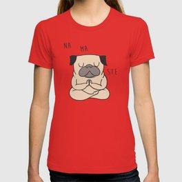 NAMASTE Pug T-shirt