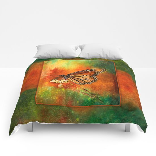 Monarch Butterfly ~ Ginkelmier Inspired Comforters