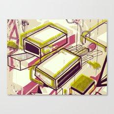 Matchbox Canvas Print
