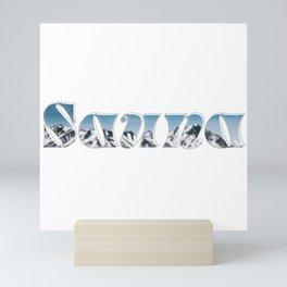 Sauna Mini Art Print