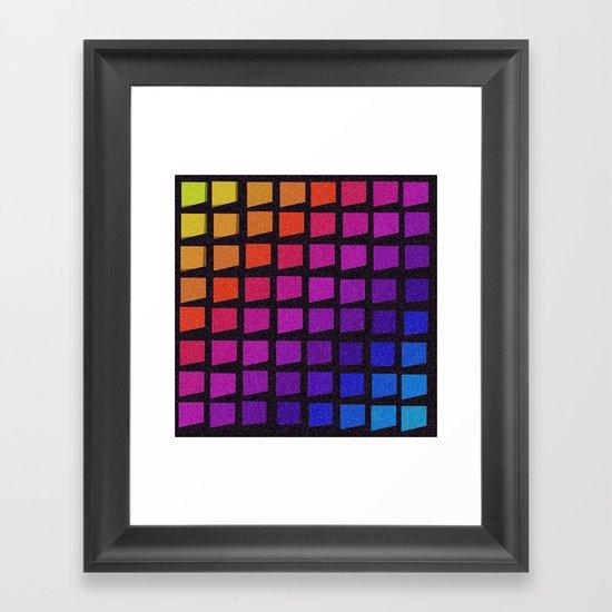 Windowpane Framed Art Print