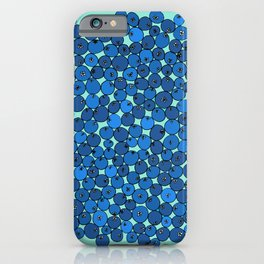 Summer Blueberries iPhone Case