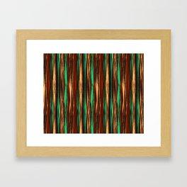 Stripes Dream Framed Art Print