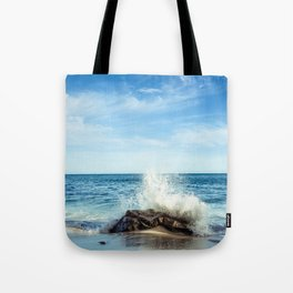 Laguna Splash Tote Bag