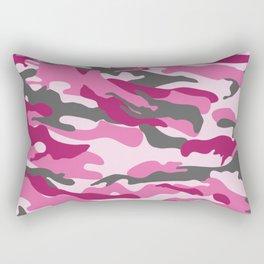 Pink Camo Rectangular Pillow