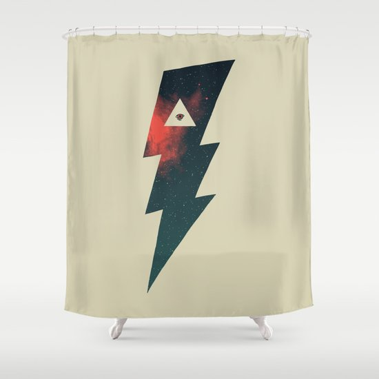 Dark Energy Shower Curtain