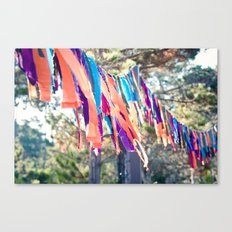 Flags of the Sisterhood Canvas Print