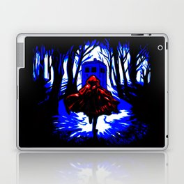 Shadow Light Of Tardis Laptop & iPad Skin