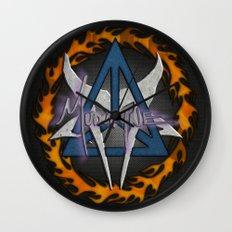 Mudvayne Logos Wall Clock