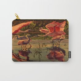 Spoonbill's At High Noon  Carry-All Pouch