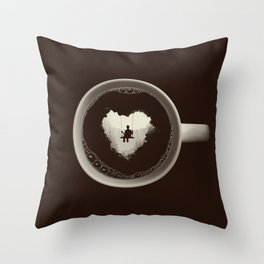 Coffee Break Throw Pillow