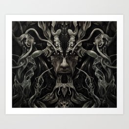 A Consumption of Memory and Identity Art Print