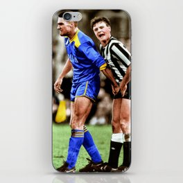 Gazza and Vinny in colour iPhone Skin