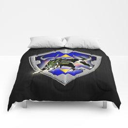 Zelda wolf Comforters