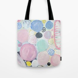 Mixed Lollies Abstract Tote Bag