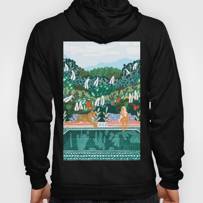 Chilling || #illustration #painting Hoody