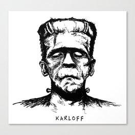 Karloff's Monster Canvas Print