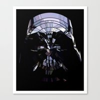 vader Canvas Prints featuring Vader by Messypandas