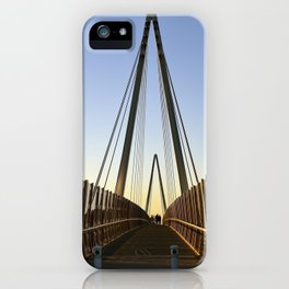 on the bridge iPhone Case