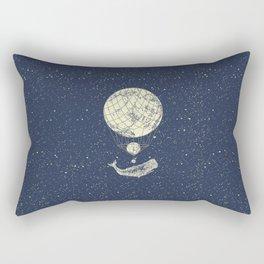 Space whale Rectangular Pillow