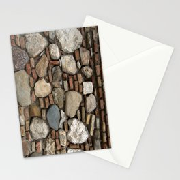 Mediaval Stone Wall Stationery Cards
