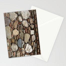 Mediaval Stone Wall Stationery Cards
