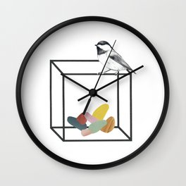 Claustrophobia I Wall Clock