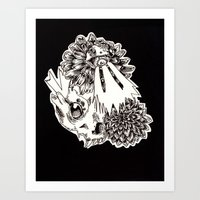 FUCK WIT ME LIZARD  Art Print