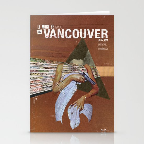 Locals Only - Vancouver Stationery Cards