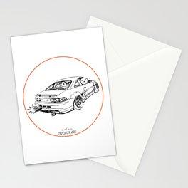 Crazy Car Art 0205 Stationery Cards
