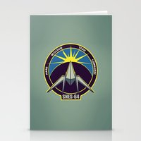 starfox Stationery Cards featuring The Lylat Space Academy by John Medbury (LAZY J Studios)