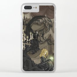 Midnight Circus: The Fortune Teller Clear iPhone Case