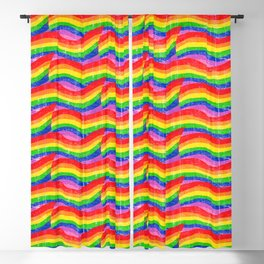 Unicorn Bacon Fat Blackout Curtain