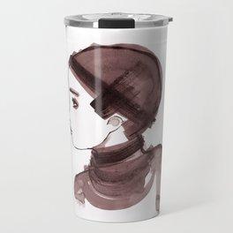 Girl ink 01 Travel Mug