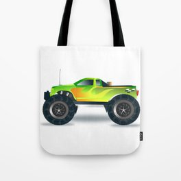 Monster Truck Toy Design Tote Bag