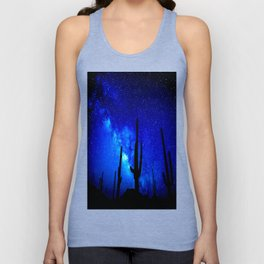 The Milky Way Blue Unisex Tank Top