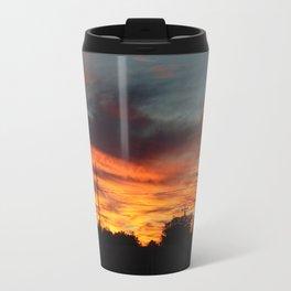 Country Sunset 2 Travel Mug
